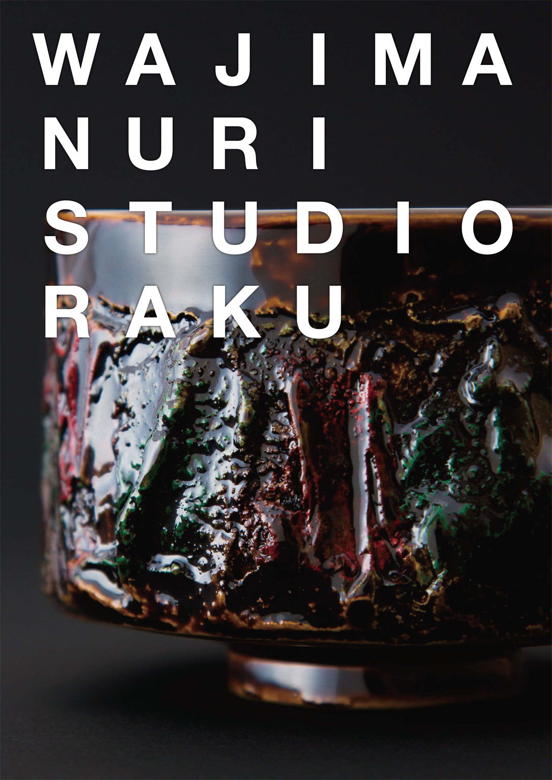 WAJIMANURI STUDIO RAKU, catalogue 2016